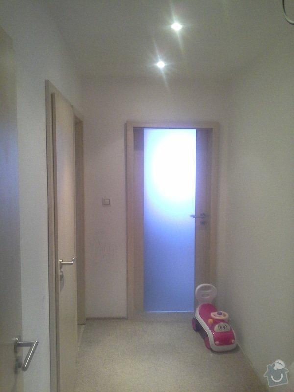 Rekonstrukce Bytu (Koupelna,WC...): kousek_-predsine_jiz_hotovy