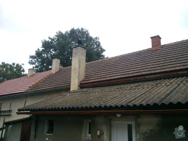 Pokryvačske prace (Rekostrukce střechy typu A cca 150 m2): DSC_1096