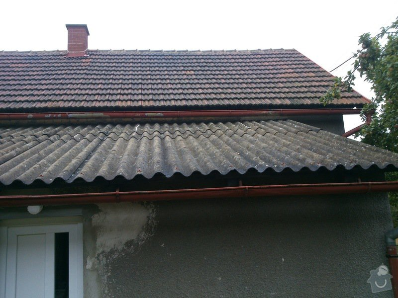 Pokryvačske prace (Rekostrukce střechy typu A cca 150 m2): DSC_1097