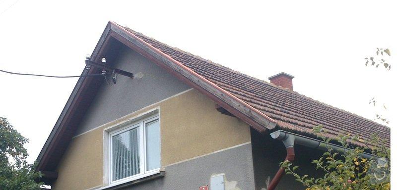 Pokryvačske prace (Rekostrukce střechy typu A cca 150 m2): str