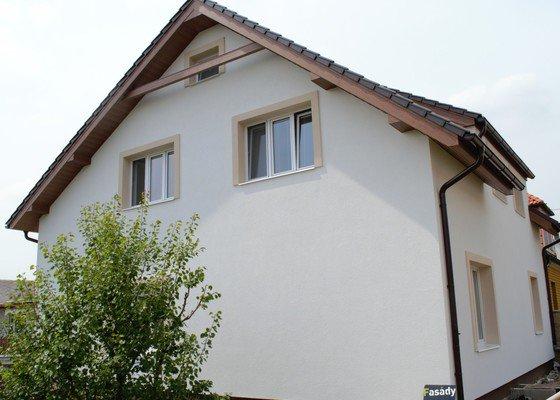 Zateplení fasády Třebonice