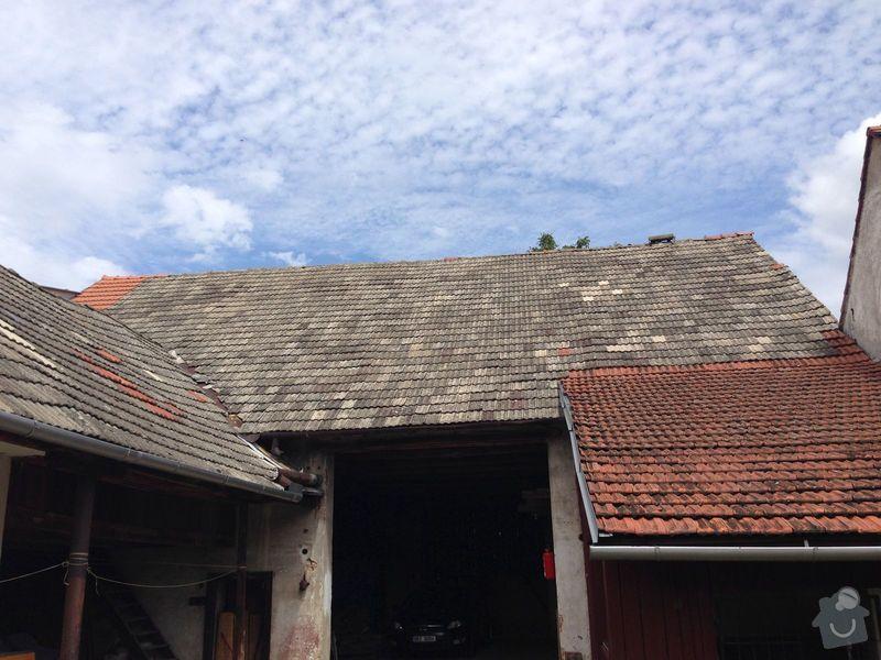 Oprava krovu stodoly a pokládka krytiny: IMG_1861