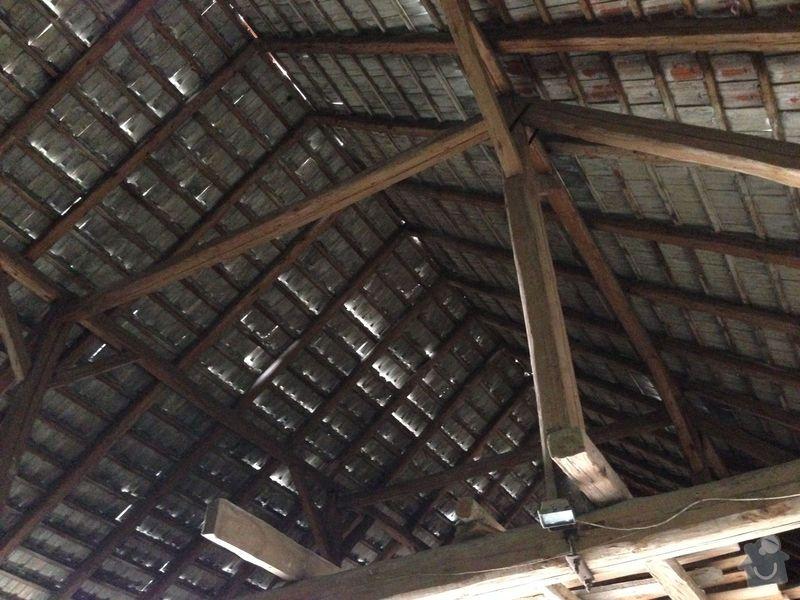 Oprava krovu stodoly a pokládka krytiny: IMG_1860