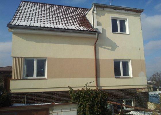 Zateplení fasády - Praha - Ruzyň