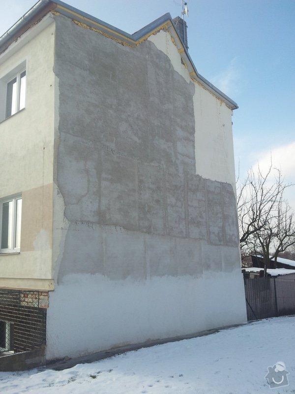 Zateplení fasády - Praha - Ruzyň: 20140204_112145