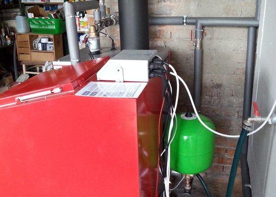Prodej Automatický kotel Greeneco 15kW + montáž
