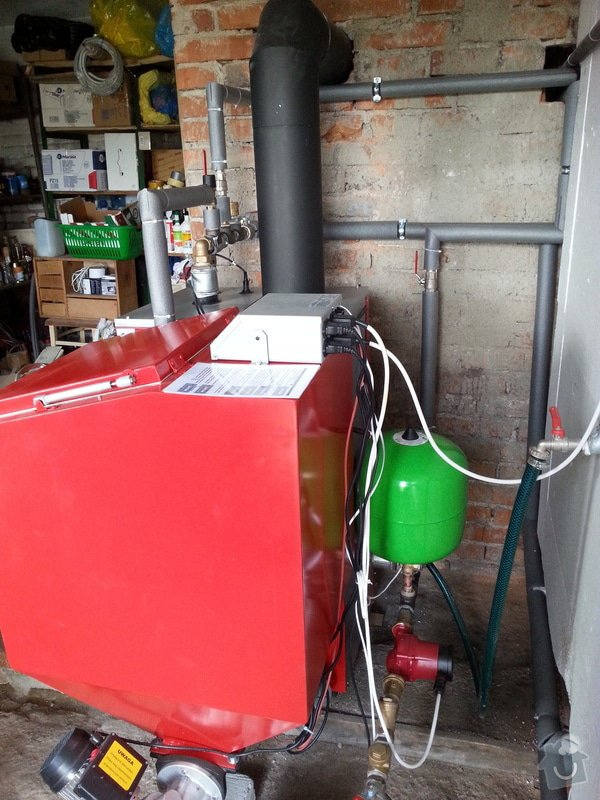 Prodej Automatický kotel Greeneco 15kW + montáž : 20140812_170334