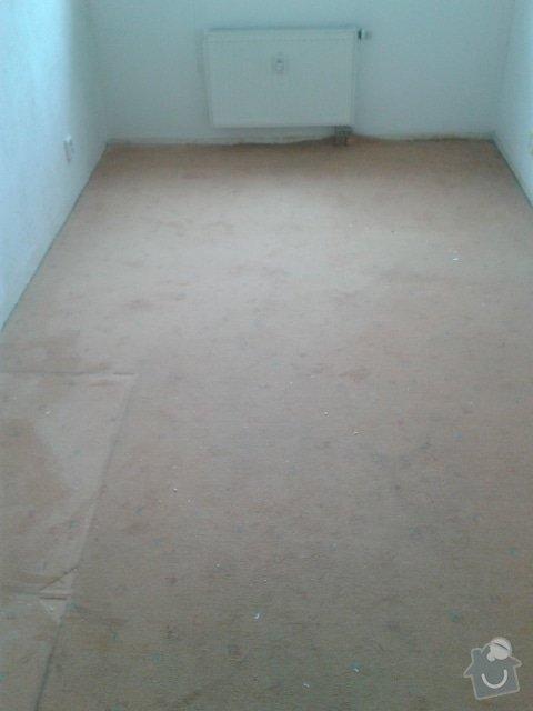 Pokladka podlahy a malovani: Loznice_Pred