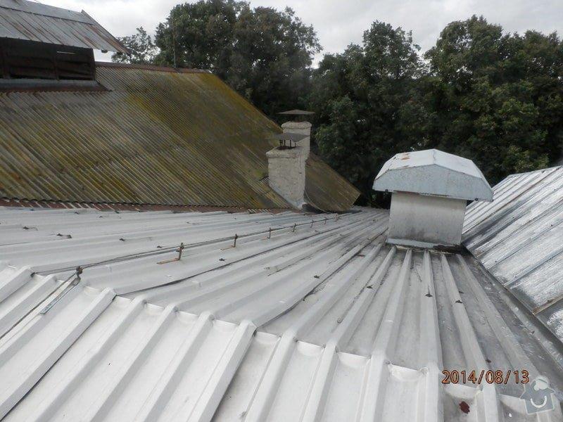 Oprava střechy lahvovny v pivovaru Vyškov: P8133186