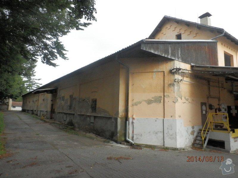 Oprava střechy lahvovny v pivovaru Vyškov: P8133182