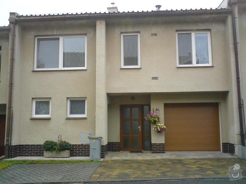 Zateplení řadového domu, včetně finální fasády.: DSC01061
