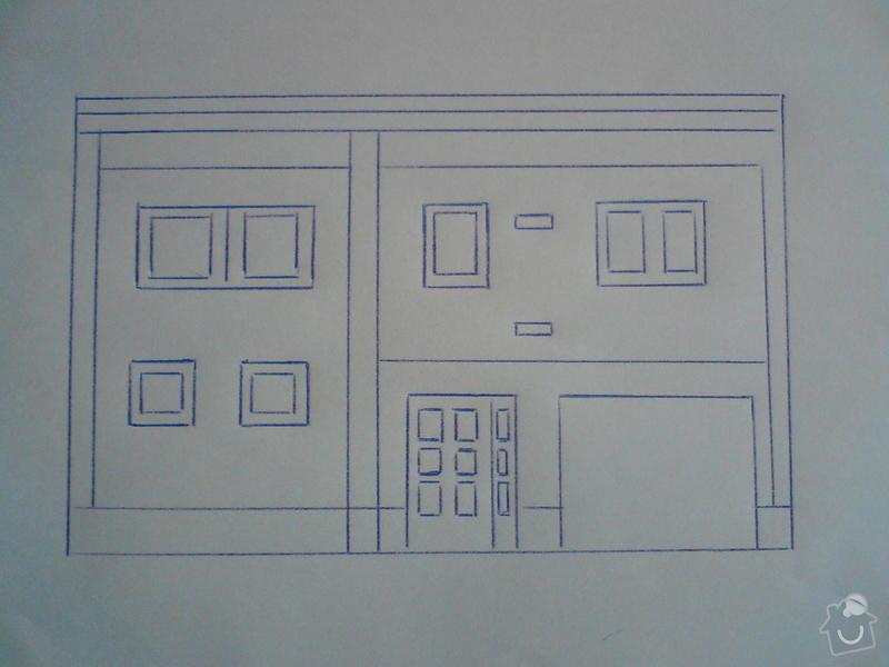 Zateplení řadového domu, včetně finální fasády.: DSC01059