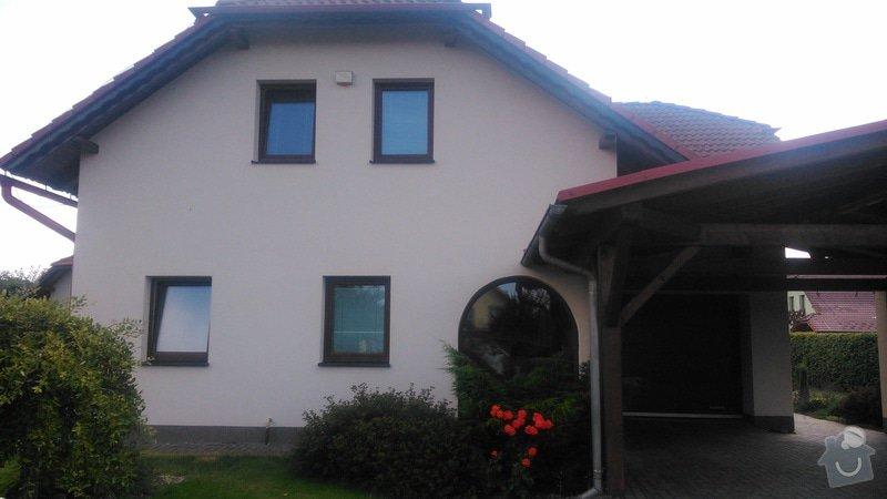 Nátěr fasády RD: DSC_0181