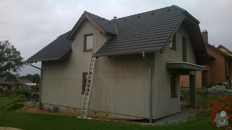 180 m2 fasada na novostavbě: 1
