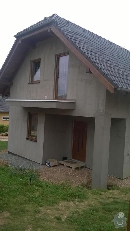 180 m2 fasada na novostavbě: 3