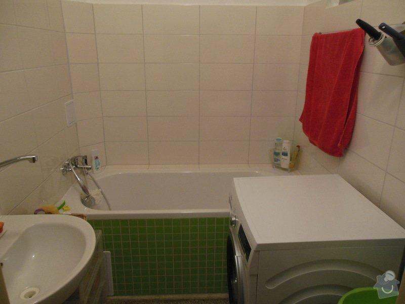 Rekonstrukce koupelny a wc, obklad kuchyně: DSCN2969