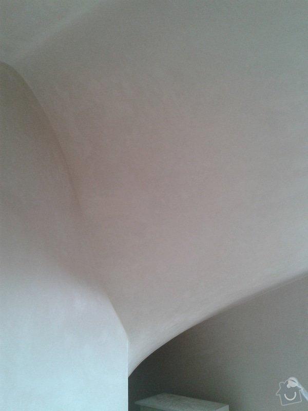 Strojní omítka sádrová hlazená: 20140811_150601
