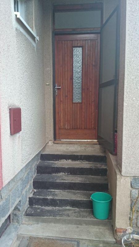 Úprava vstupu do rodinného domu - rekonstrukce: DSC_0963