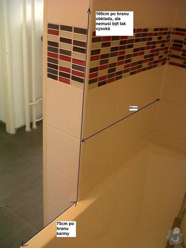 Výroba a montáž sprchové zástěny na míru: New_Image
