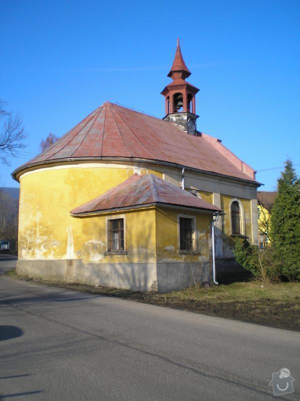 Oplechovani vezicky kostela, cca 20 m2: kaple_Ostasov_1