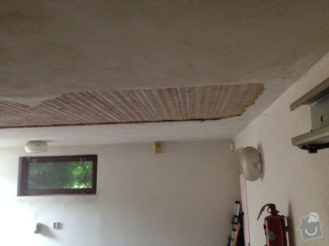 Nahozeni a vystukovani stropu v garazi: 140814_spadly_strop_a