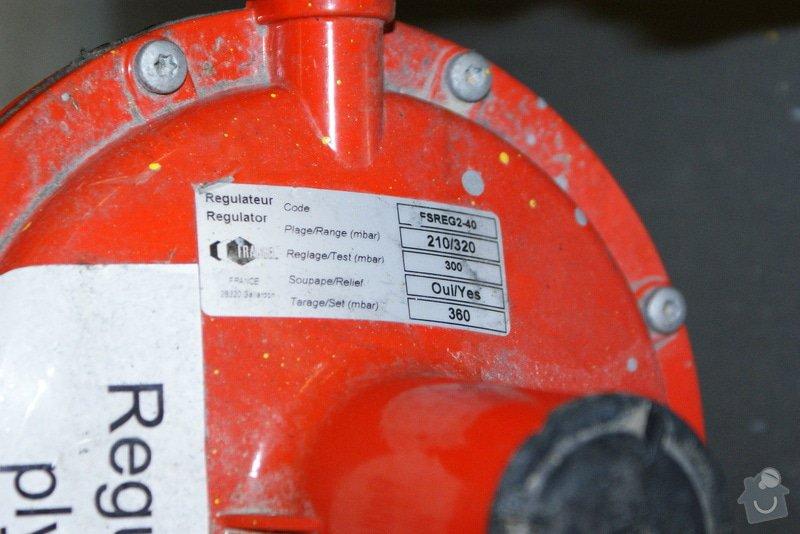 Oprava/výměna plyn. regulátorů Francel: DSC02680