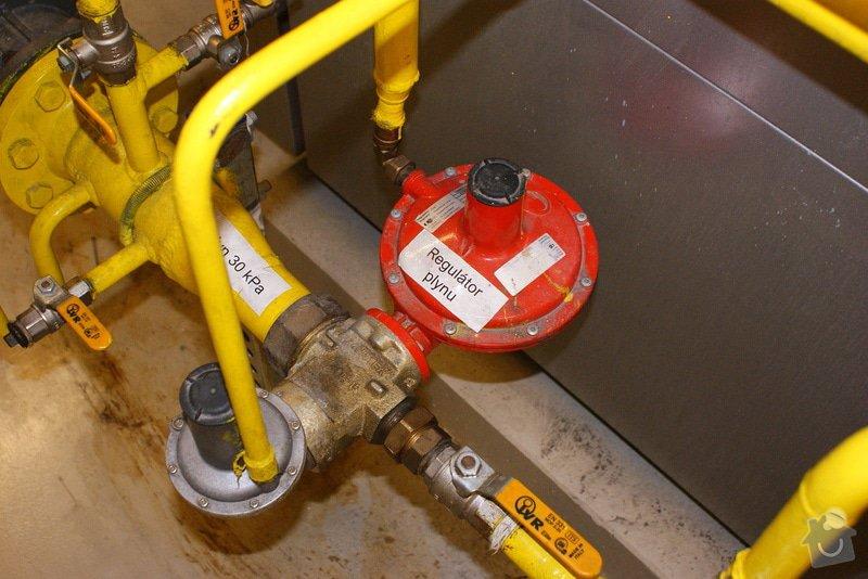 Oprava/výměna plyn. regulátorů Francel: DSC02681