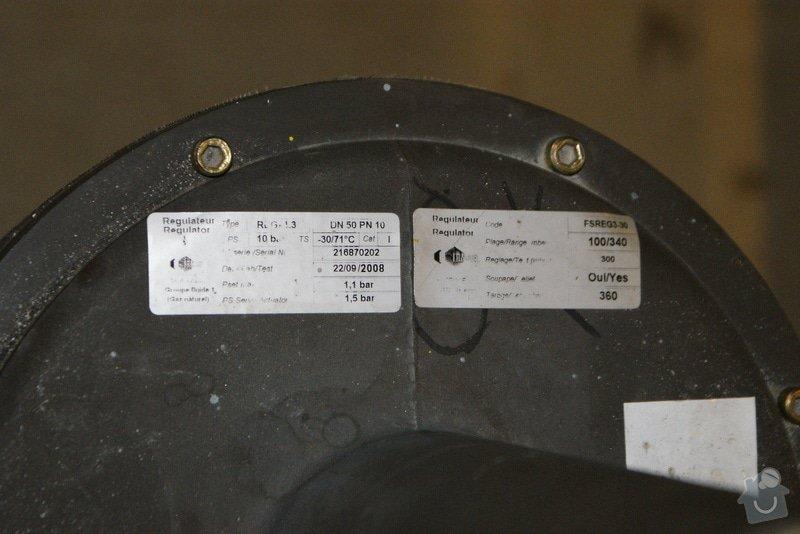 Oprava/výměna plyn. regulátorů Francel: DSC02683