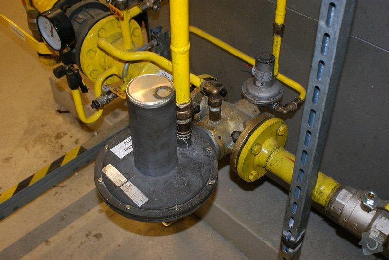 Oprava/výměna plyn. regulátorů Francel: DSC02684