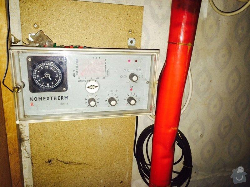Oprava regulace topení v RD: komextherm