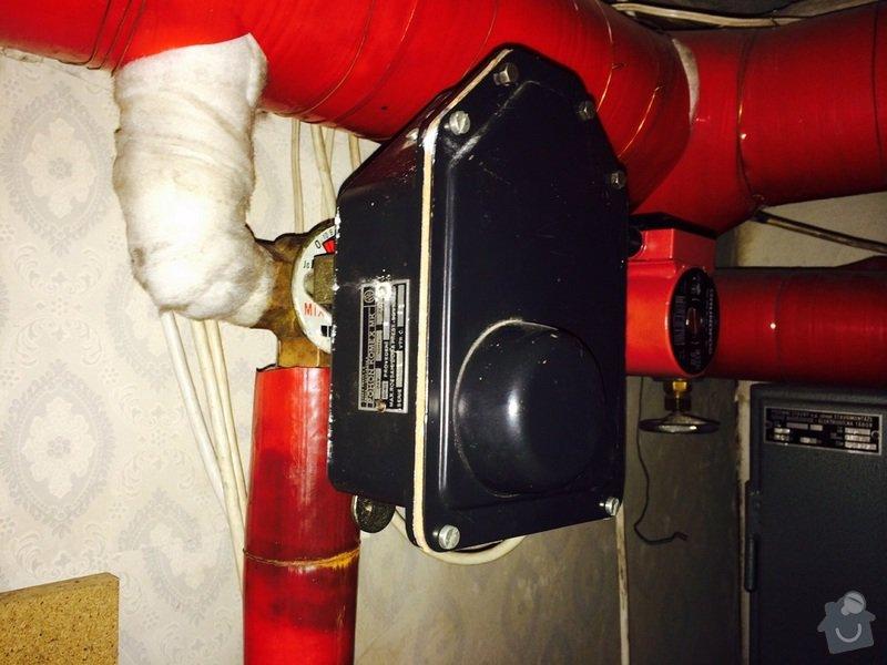 Oprava regulace topení v RD: pohon01