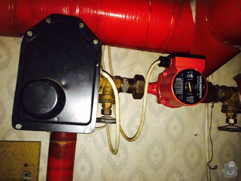 Oprava regulace topení v RD: pohon02