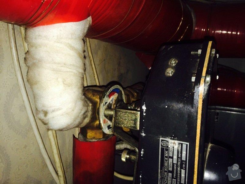 Oprava regulace topení v RD: pohon03