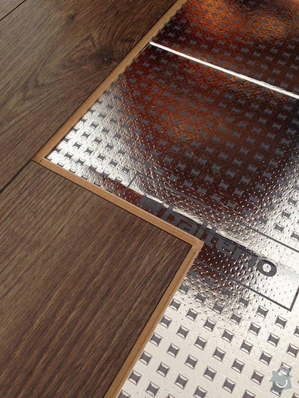 Podlaha - Plovoucí podlaha: IMG_7144