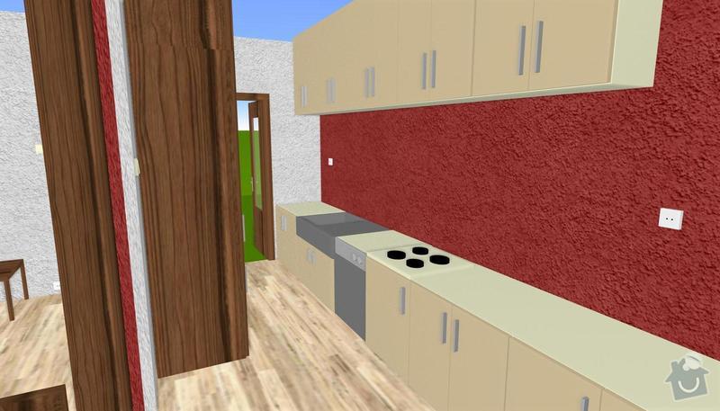 Kuchyně do panelového bytu: kuchyn