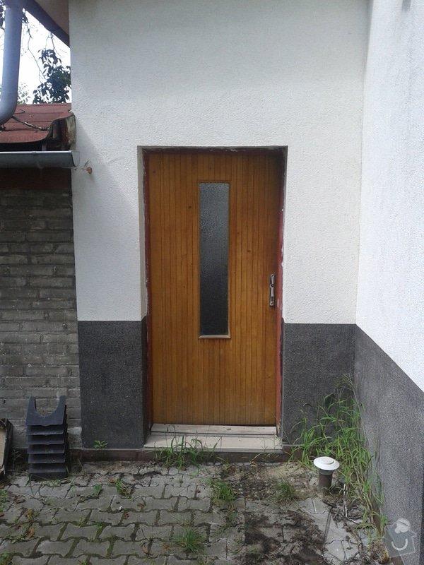 Zastřešení vstupu do domu: 20140815_130211