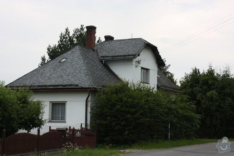 Drobnou opravu břidlicové střechy: 01