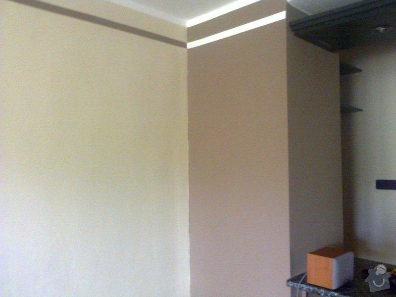 Malování pokoje, nástřik Gotele: Malovani_obyvaciho_pokoje_nastrik_Gotele_4_