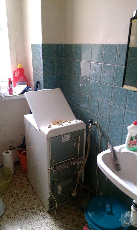 Rekonstrukce koupelny, příprava pro kuchyňský kout: koupelna_3