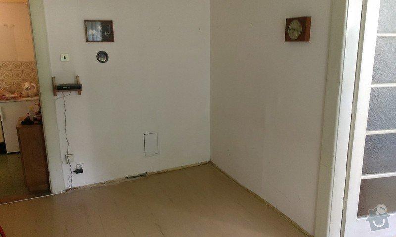Rekonstrukce koupelny, příprava pro kuchyňský kout: kuch_kout_1