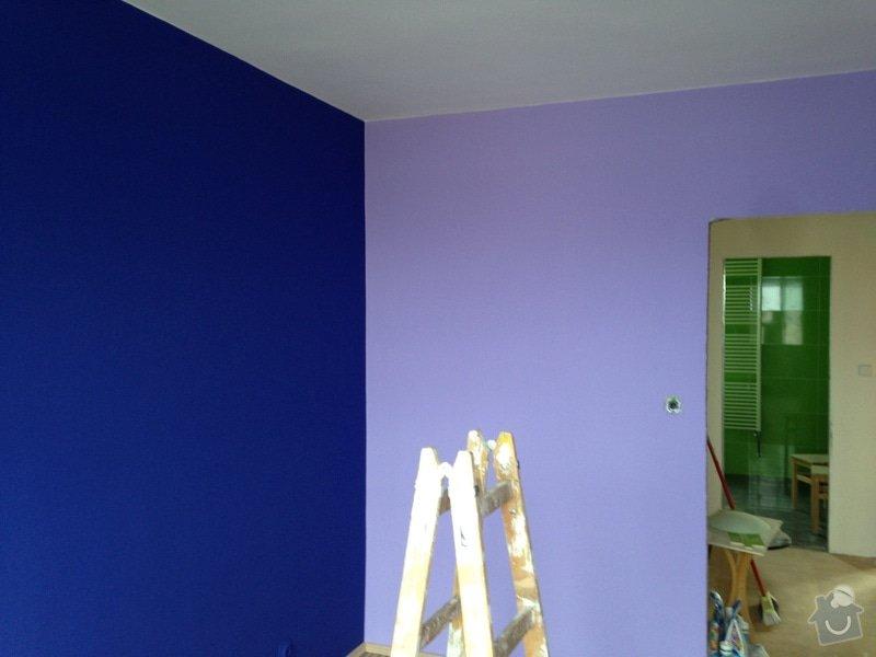 Malířské práce, rodinný dům 150 m2: 088