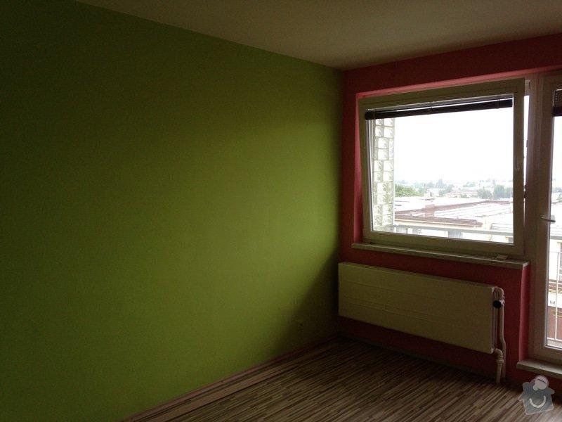 Malířské práce, rodinný dům 150 m2: 087