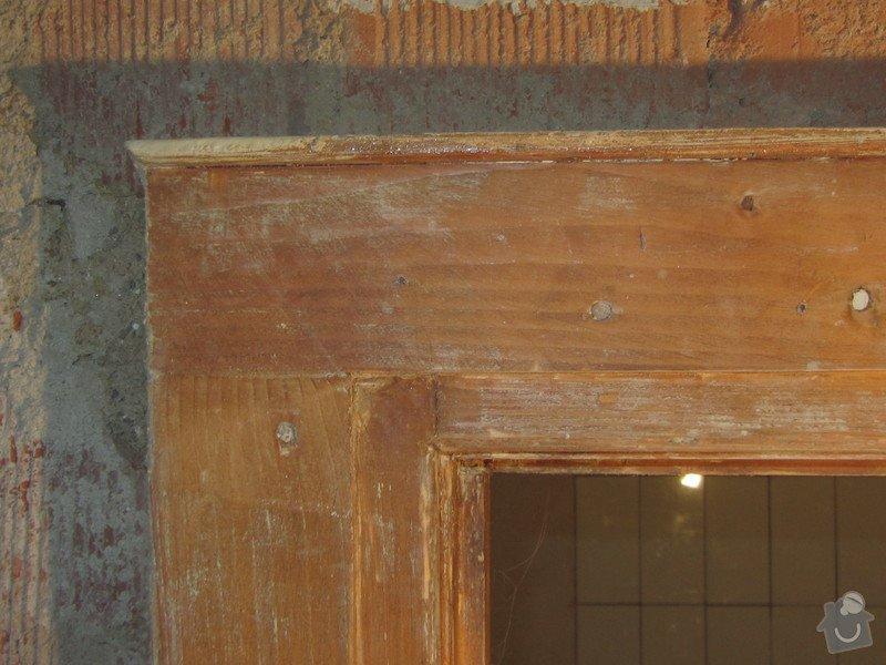 Zhotovení dřevěných dveří a zárubní: IMG_2517
