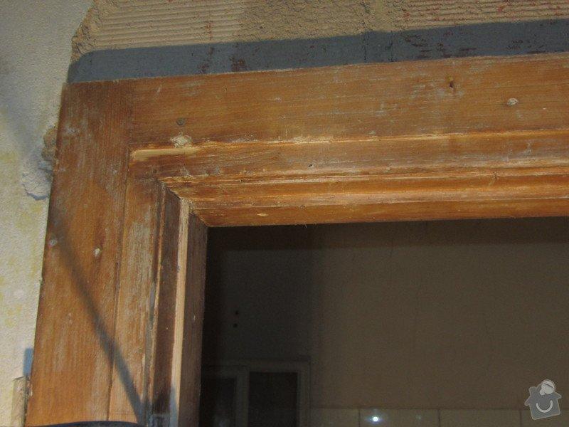 Zhotovení dřevěných dveří a zárubní: IMG_2518