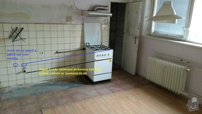 Voda+odpad instalatér: kuchyn
