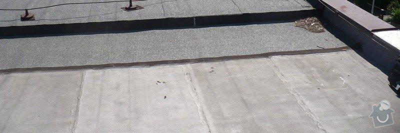 Zateplení + izolace ploché střechy (Brno): 1