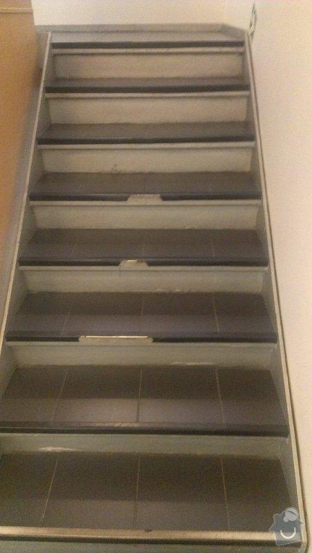 Schody - oprava - položení nové dlažby a lišt: IMAG0794