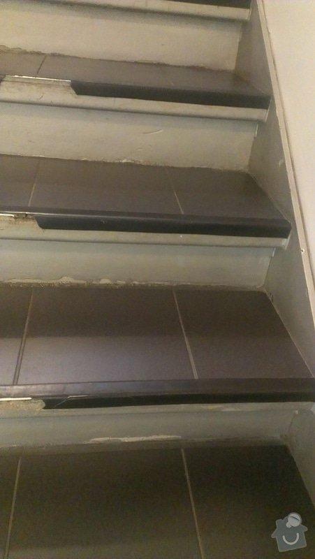 Schody - oprava - položení nové dlažby a lišt: IMAG0795