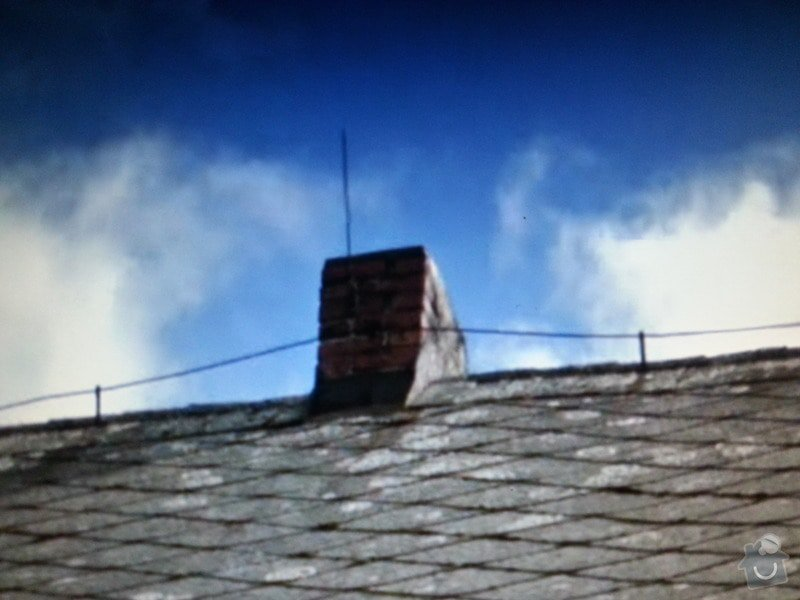 Oprava eternitové střechy: 20140814_205907