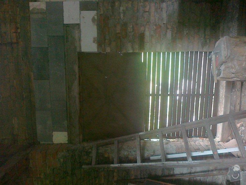 Přestavba stodoly a černá kuchyně: 100720141503